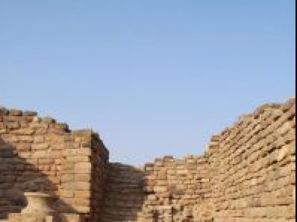 Dholavira photos, Harappan City - Interiors