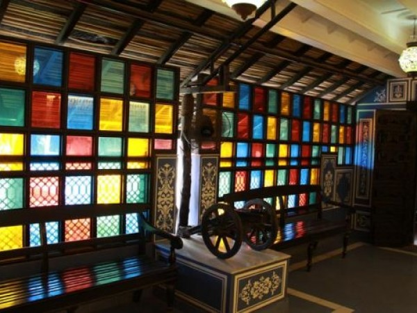 Ahmedabad photos, Vechaar Utensils Museum - Colourful Windows