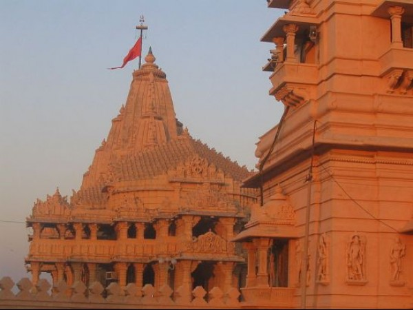 Somnath photos, Somnath Mahadev Temple - View of the Temple
