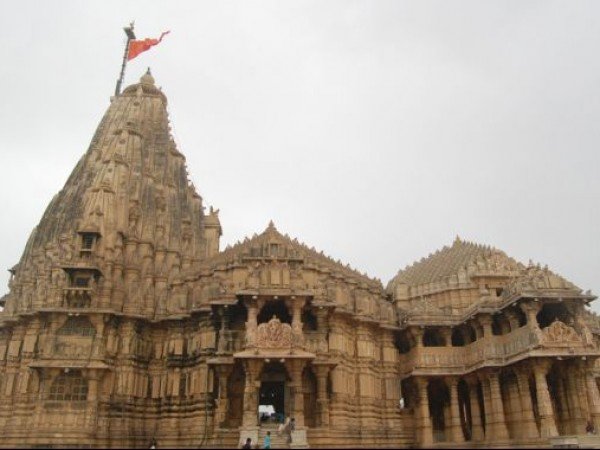 Somnath photos, Somnath Mahadev Temple - Temple Structure