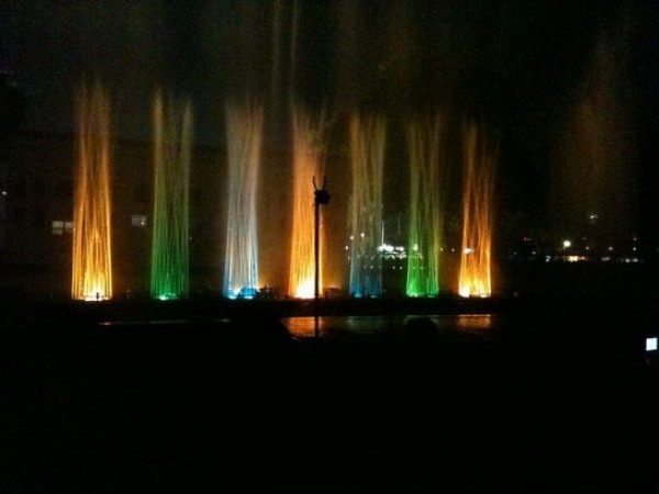 Ahmedabad photos, Kankaria Lake - Musical Fountain
