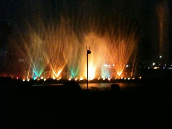 Ahmedabad photos, Kankaria Lake - Laser Show