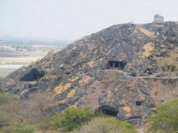 Somnath photos, Sana Caves