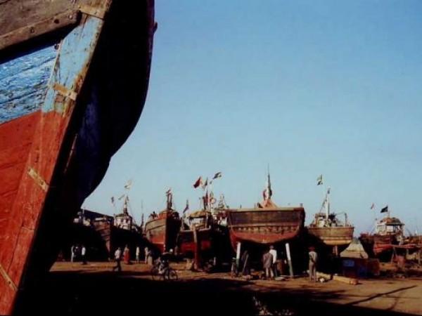Somnath photos, Veraval - Fishing Boats