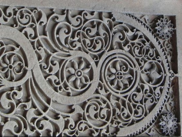 Ahmedabad photos, Sidi Sayeed Masjid - Carving Inside the Mosque