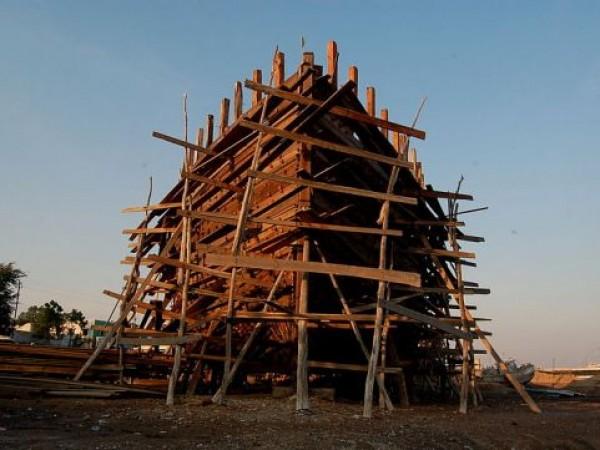 Mandvi photos, Shipbuilding Yard - Yard