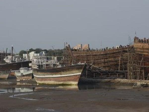 Mandvi photos, Shipbuilding Yard - A View