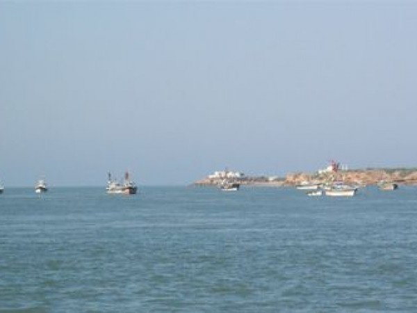 Dwarka photos, Beyt Dwarka - The River