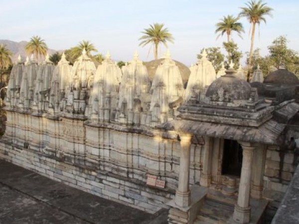 Danta photos, Taranga and Kumbharia Jain temples - A Side View