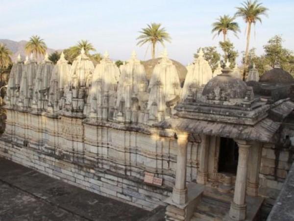 Danta photos, Taranga and Kumbharia Jain temples - A Side View
