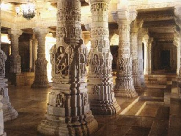 Danta photos, Taranga and Kumbharia Jain temples - Attractive Pillars