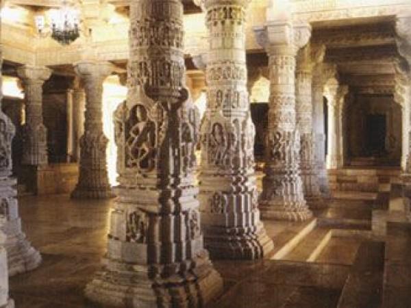 Danta photos, Taranga and Kumbharia Jain temples - Attractive Pillars