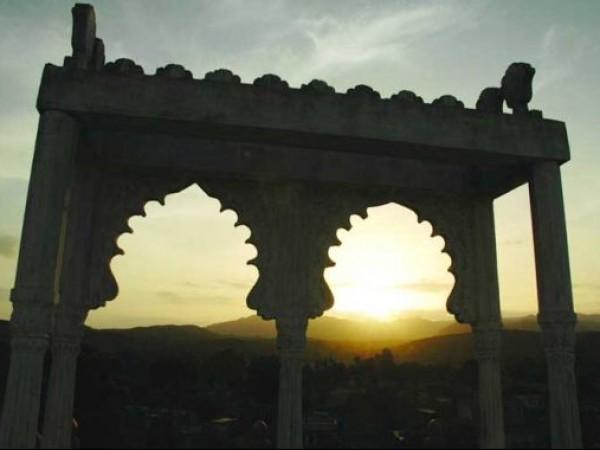 Danta photos, Poshina - The Arch at the Entrance