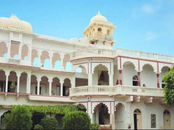 Danta photos, Poshina - Palace Front View