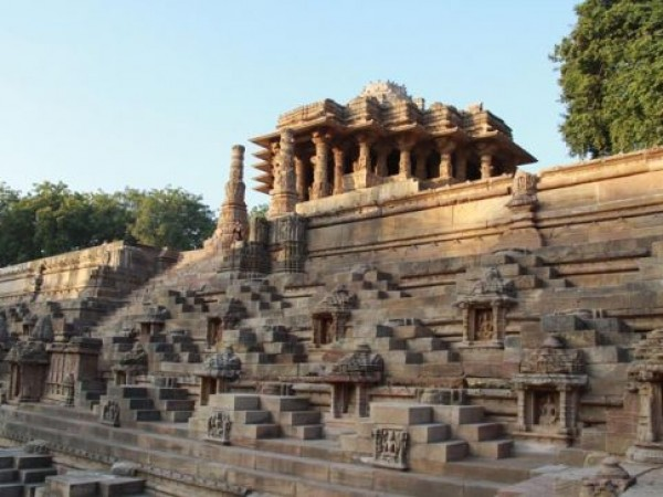 Danta photos, Modhera Sun temple - A Distant View