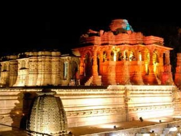 Danta photos, Modhera Sun temple - Decorative Lighting