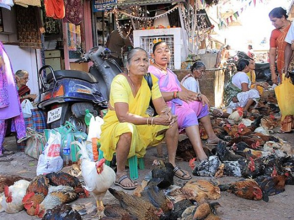 Goa photos, Mapusa - Market