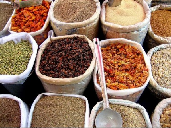 Goa photos, Mapusa - Spices