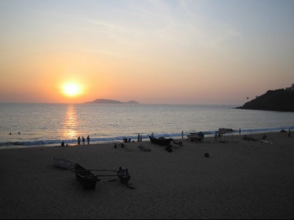 Goa photos, Bogmalo Beach - Sunset