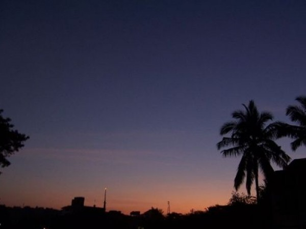 Goa photos, Panaji - Colourful Sunset