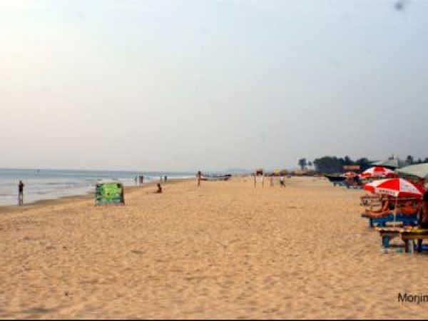 Goa photos, Mojrim Beach - A relaxed evening...