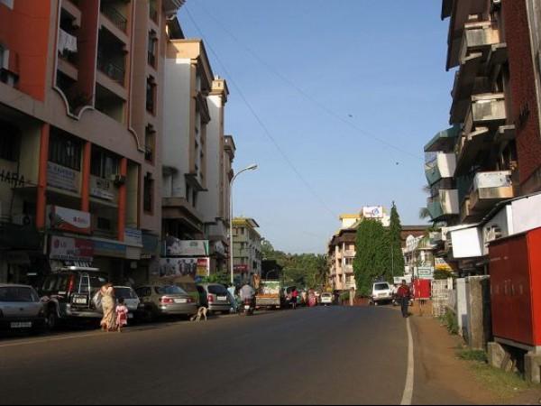 Goa photos, Margoa - Street