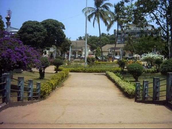 Goa photos, Margoa - Muncipal garden