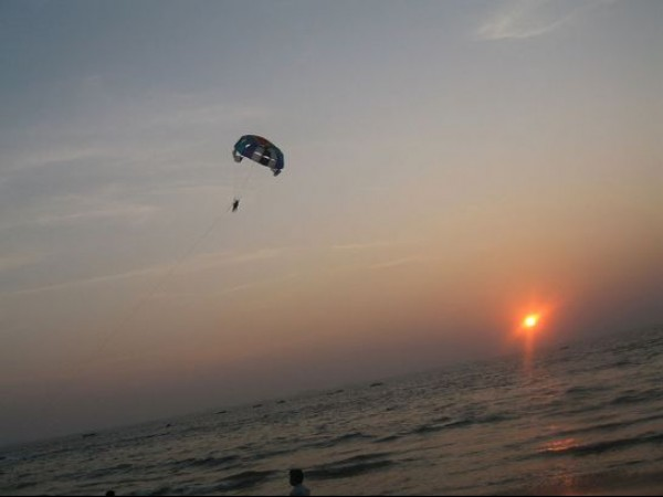 Goa photos, Calangute Beach - Para