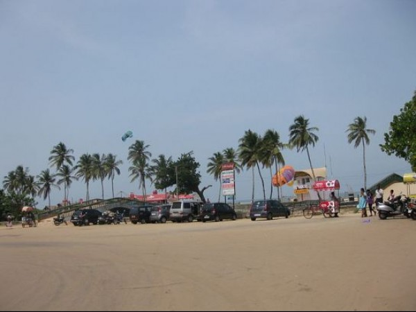 Goa photos, Colva Beach - Entrance