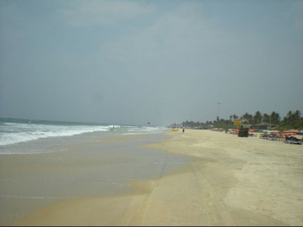 Goa photos, Colva Beach - A serene scene..