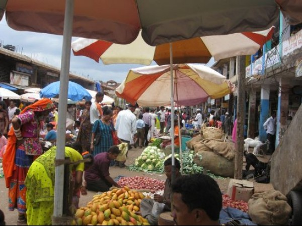 Goa photos, Mapusa - Vegetable Market