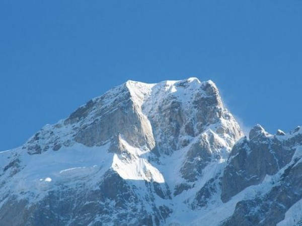 Kedarnath photos, Kedarnath Mountain - Snow