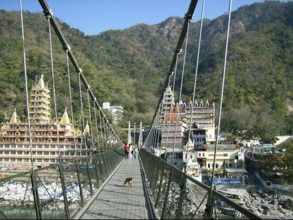 Rishikesh photos, Laxman Jhula - Picture perfect