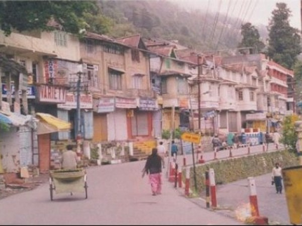 Nainital photos, The Mall - The Road