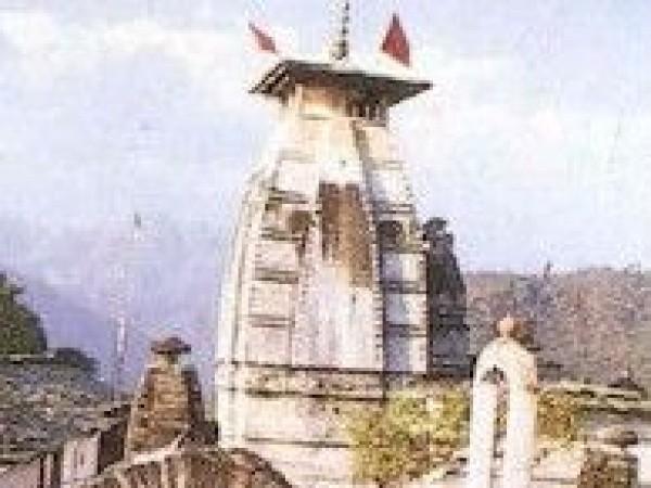Pauri photos, Kyunkaleshwar Mahadev Temple - Entrance