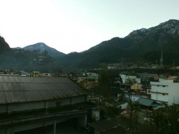 Uttarkashi photos, Morning at Uttarkashi Town