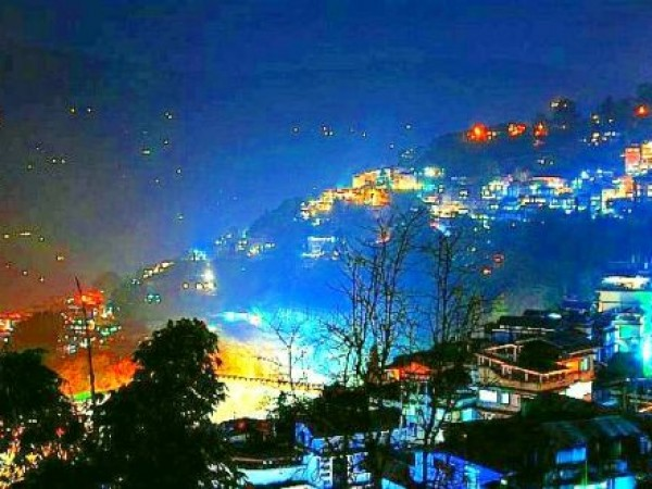 Gangtok photos, Gangtok view in night