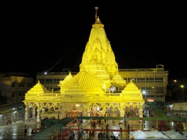 Ambaji photos, ambaji_temple - Night time