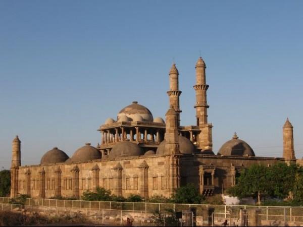Champaner photos, Jama Masjid - Exterior View