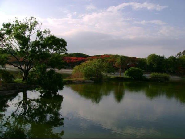 Bangalore photos, Lal Bagh - Lake view