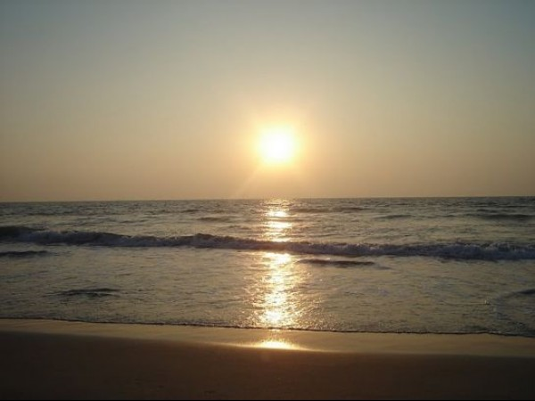Mangalore photos, Tannirbhavi Beach - Sunset View