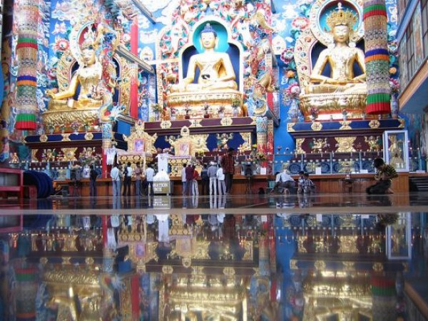 Coorg photos, Bylakuppe - Idols At The Monastery