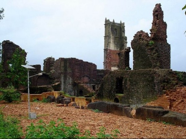 Goa photos, St. Augustine Church - Ruins