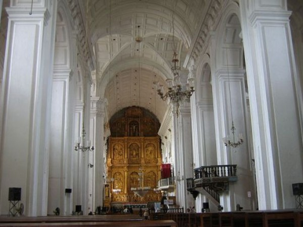 Goa photos, St. Francis of Assisi Church and Convent - Interiors