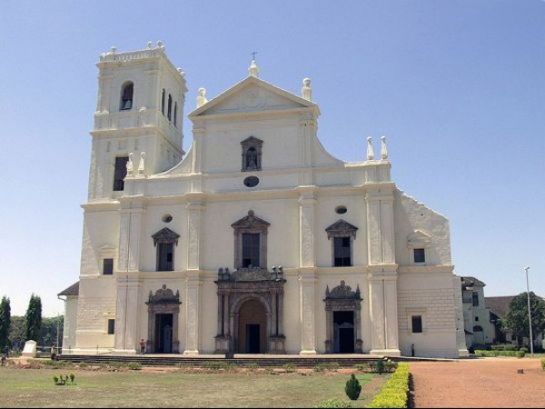 Goa photos, Se Cathedral of Santa Catarina - A View