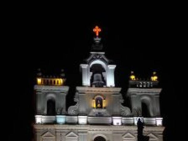 Goa photos, Our Lady of Immaculate Conception - Night View