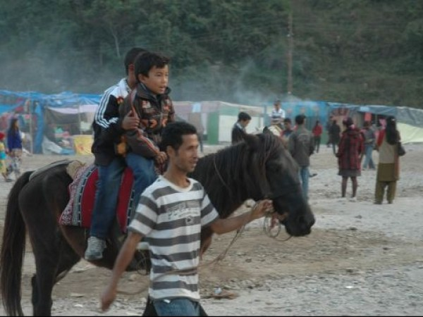 Jorethang photos, Maghey Mela - Horse Ride