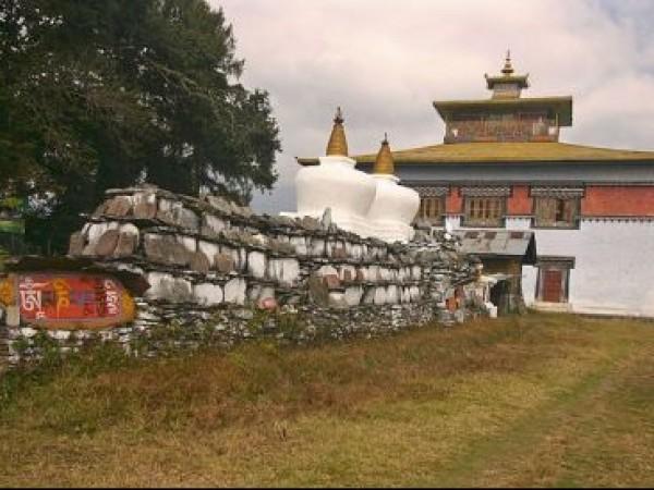 Yuksom photos, Tashiding Monastery - Flagstone