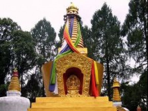 Yuksom photos, Tashiding Monastery - Golden Stupa