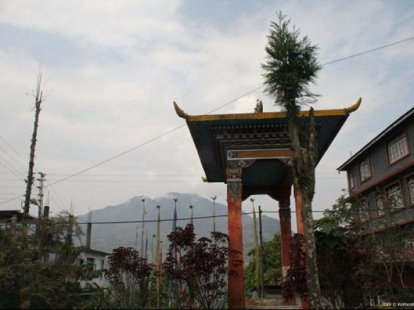Yuksom photos, Tashiding Monastery - Entrance